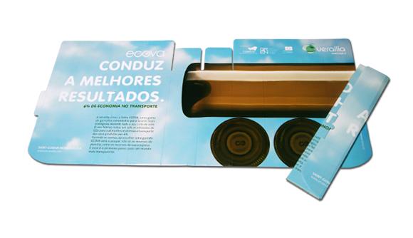 parasole auto cartone micro carton ecova