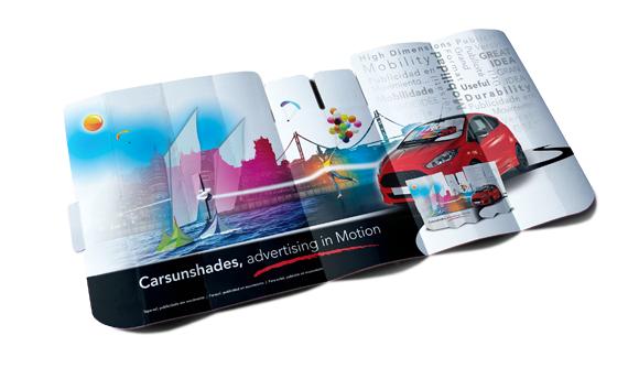 parasole auto cartone micro carton r3d
