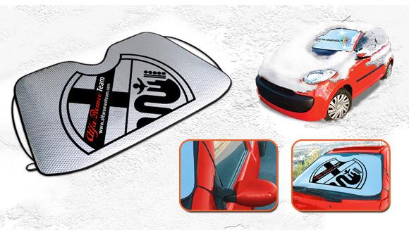 parasole auto publicita ice caratteristiche