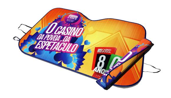 parasole auto publicita ice casino