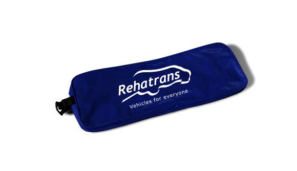 borsa in nylon kit di emergenza per auto blu