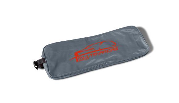 borsa in nylon kit di emergenza per auto grigio