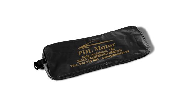 borsa in nylon kit di emergenza per auto nero