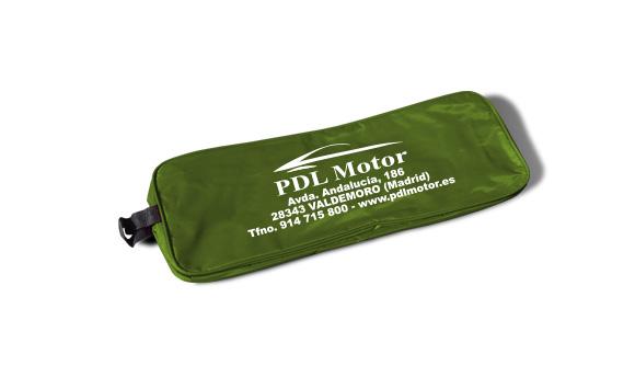 borsa in nylon kit di emergenza per auto verde